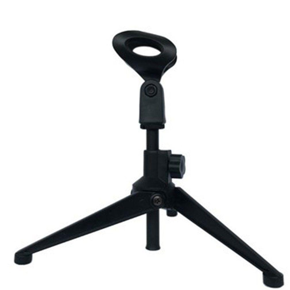 Microphone stand desktop tripod stand wired wireless microphone stand  E300-in Tripods from Consumer Electronics on Aliexpr… | Microphone stand,  Microphone, Portable