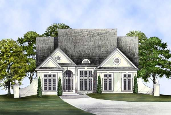 European Style Home Design Plan 24-227 Don\u0027t forget! in 2018