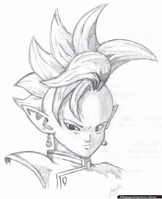Dibujos de Dragon Ball z para Imprimir y Colorear  DB S ...