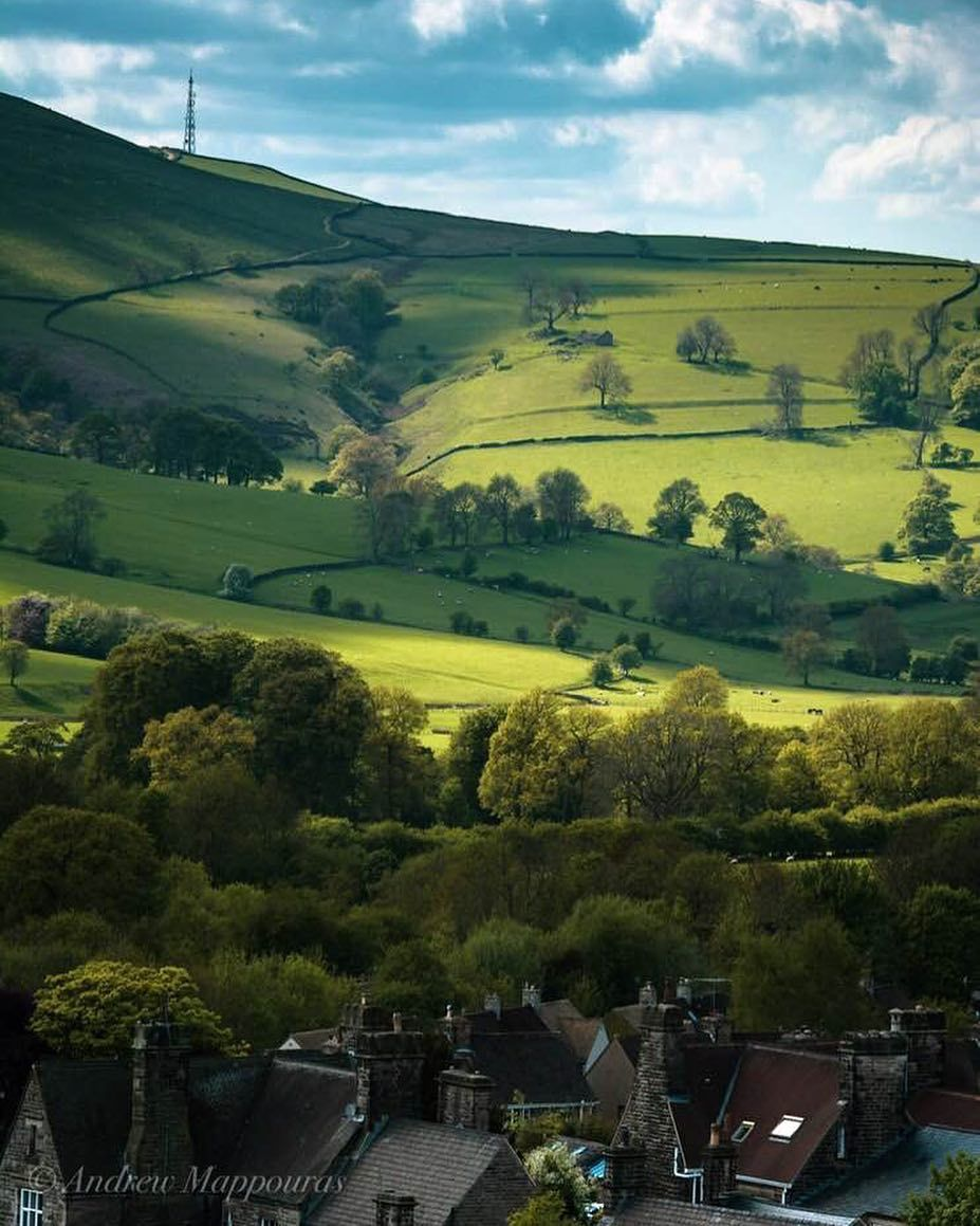 Good Morning From The Beautiful Village Of Hathersage In The Peak District Photo By Andymapp Lovegre Best Vacation Destinations Scenic Beautiful Villages