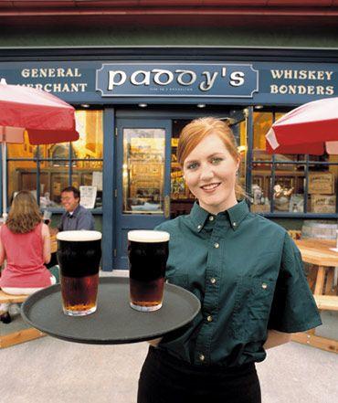 Dublin for some pub fare