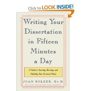Writing Your Dissertation In Fifteen Minute A Day Guide To Starting Revising And Finishing Doctor Education Quote For Teachers