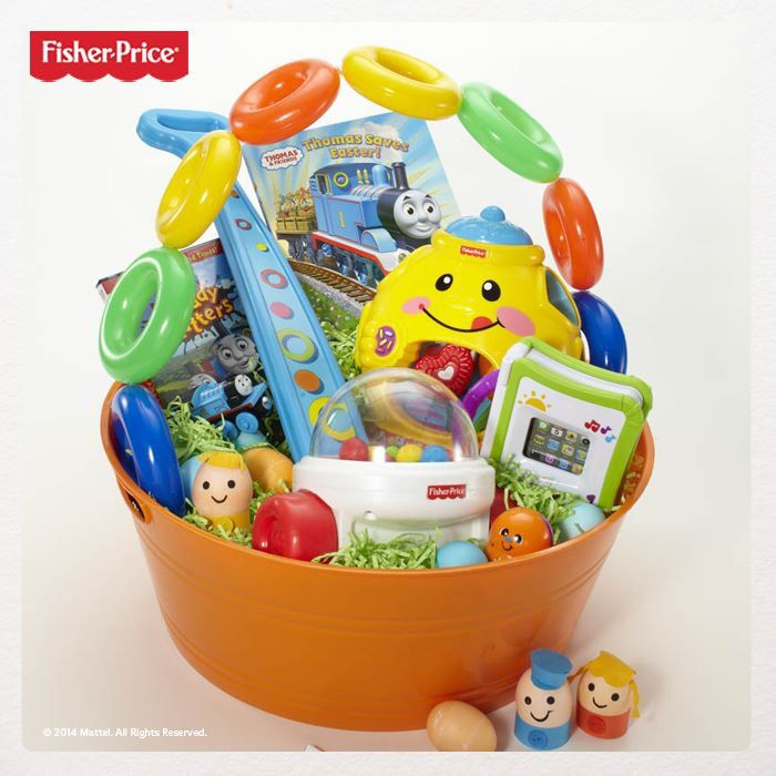 Easter basket for little ones easter pinterest easter ideas for infanttoddler easter basket negle Images