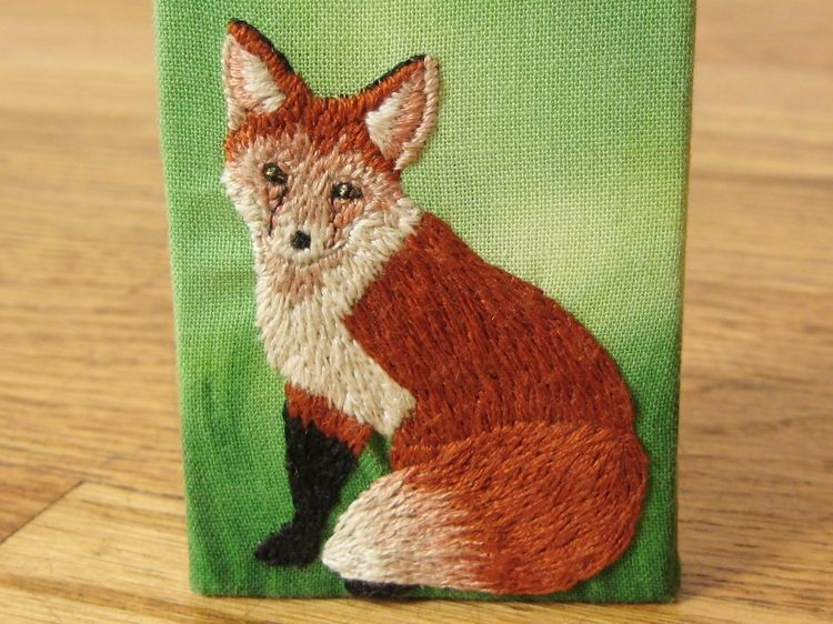 Hand Stitched Fox - How Did You Make This? | Luxe DIY  Free pattern and a tutorial