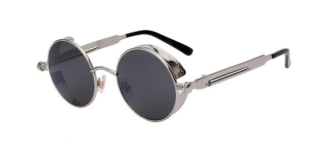 17b832b58c Designer Retro Vintage Sunglasses Steampunk Men Women UV400 ...
