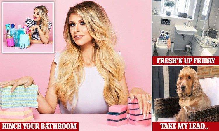 Mrs Hinch Shows You How To Make The Bathroom Positively Sparkle Daily Mail Dettol Spray Bathroom How To Make