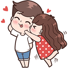 This love for you, send your love to your couple. It's so cute >.<