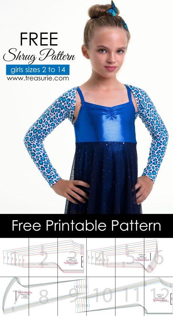 Free shrug pattern | В группу | Pinterest