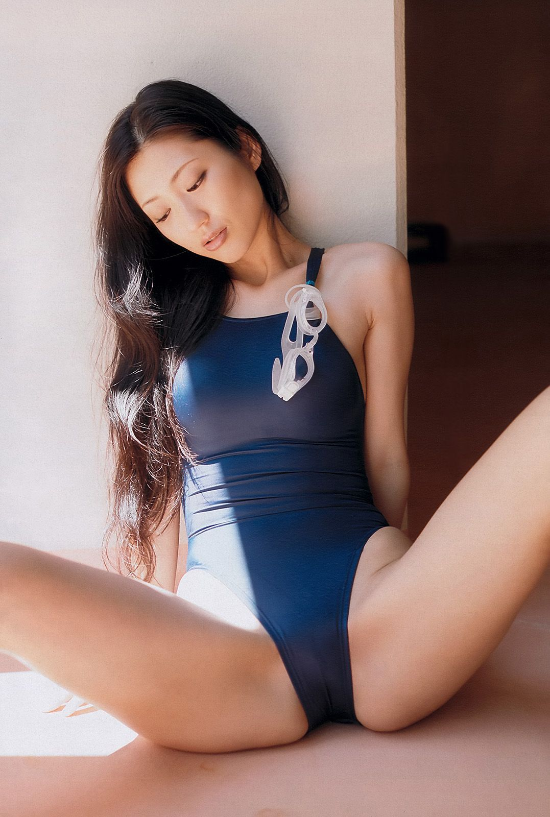 Asian picture swimsuit