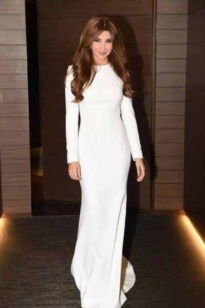 اناقة الاكمام الطويلة لنانسي عجرم Dresses Lovely Dresses Abaya Fashion