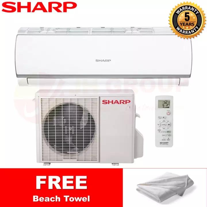 (2020 NEW) SHARP 1HP 1.0HP R32 NON INVERTER AIR