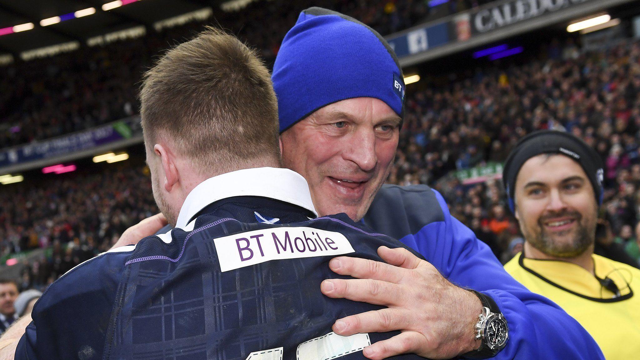 Six Nations 2017 Vern Cotter hails Scotland's secondhalf