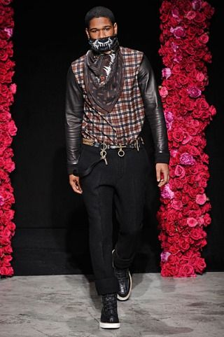 Riccardo Tisci Menswear a/w 2011 When Tisci took over as head designer, Givenchy changed drastically using a lot of prints and pattern and moving more into a streetwear style. The high quality tailoring still remains though.