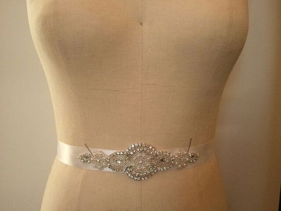 Wedding Belt, Bridal Belt, Bridesmaid Belt, Bridesmaid Belt,, Crystal Rhinestone - Style B141