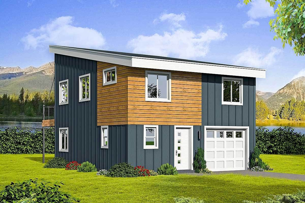 Plan 68546vr Innovative 3 Bedroom Small House Plan With