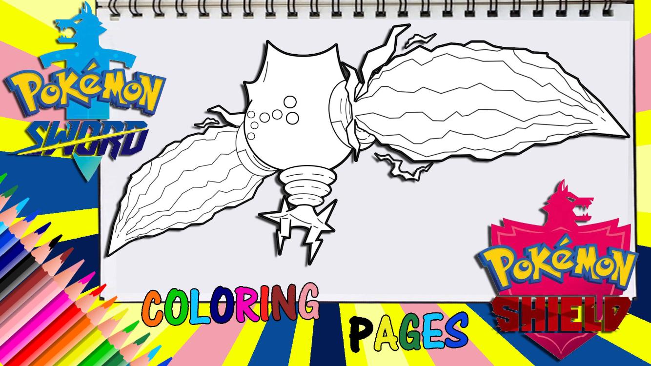 Pokemon Sword And Shield Regieleki Coloring Page Coloring Pages Pokemon Fan Art Pokemon