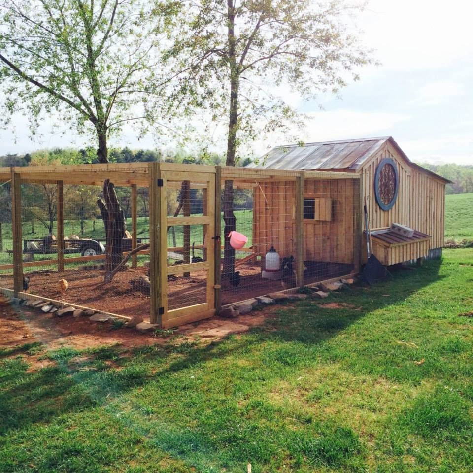 Chicken Coop From Photo Contest At The Chicken Chick On