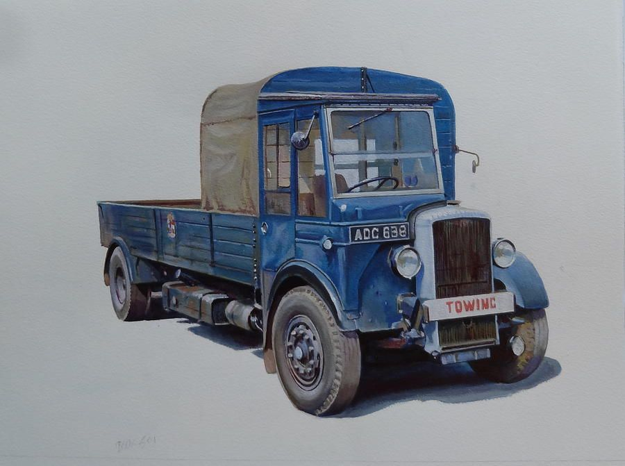 Daimler, Towing - GB | Transport art | Pinterest | Vehicle and Cars