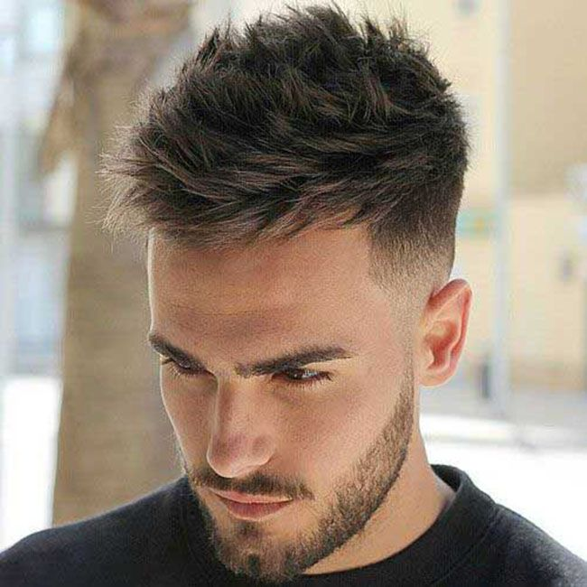 21++ Mens short textured haircut trends