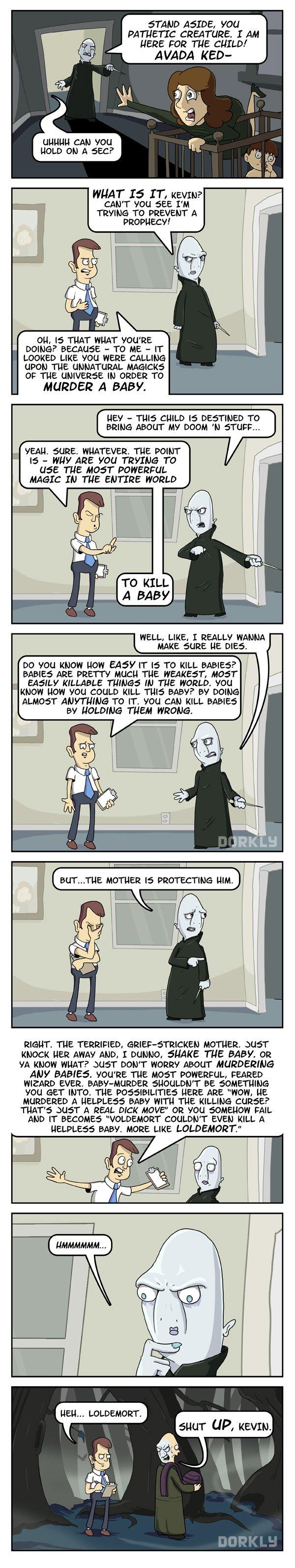 Voldemort's Assistant, Kevin - Imgur