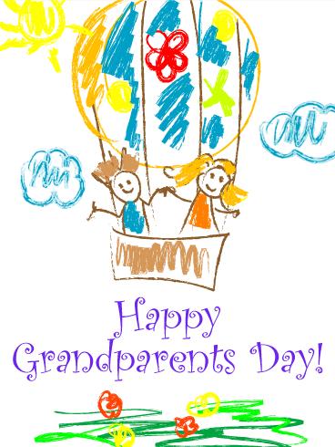 Joyful drawing grandparents day card art pinterest joyful drawing grandparents day card m4hsunfo
