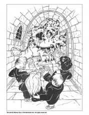 harry potter coloring pages  ron weasley  harry potter