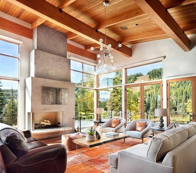 Rustikale Wohnzimmer - eine gemütliche rustikale Einrichtung für das