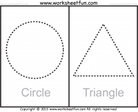 Shapes – Circle, Triangle, Square, Rectangle, Rhombus, Oval ...