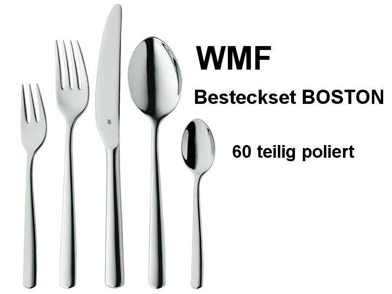 WMF Besteck BOSTON 60-teilig poliert, Set für 12 Personen | Jar ... | {Besteck 65}
