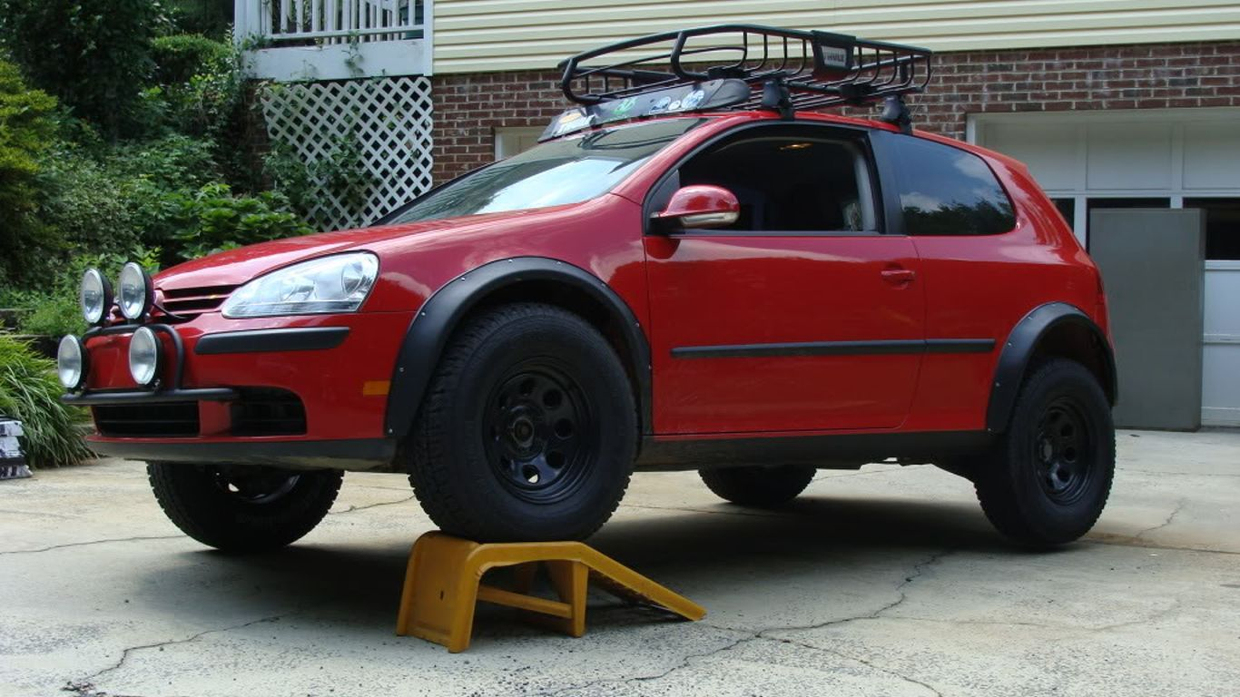 8 Lifted Cars That Look Absolutely Amazing Volkswagen Polo
