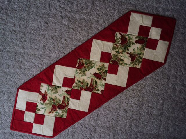 Simply A Pleasure Table Runner With Cardinals Made For My