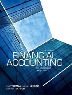 solution manual for financial accounting an integrated approach 5th rh pinterest com Financial Accounting Weygandt Financial Accounting Textbook