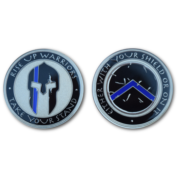 Spartan Challenge Coin | Wants for race | Spartan challenge