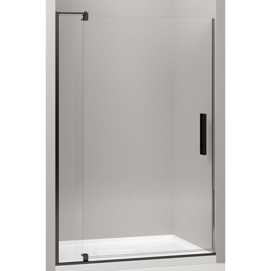 Kohler Revel 43 125 In To 48 In Frameless Pivot Shower Door