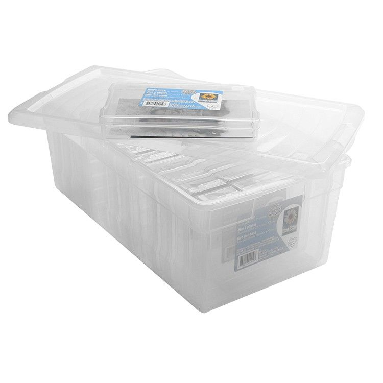 12 Case Photo And Craft Storage Box Craft Storage Box Plastic Box Storage Craft Storage