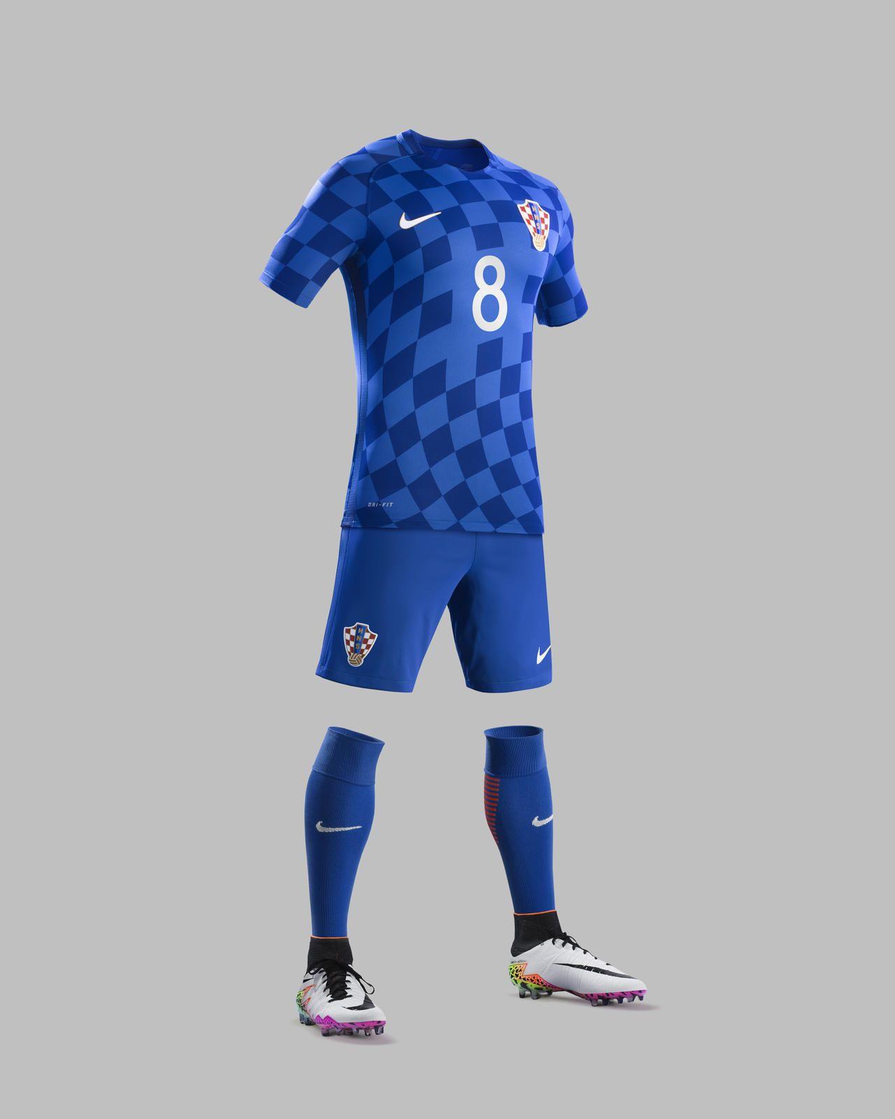 Croatia 'Euro 2016' Nike Home & Away Shirts Football