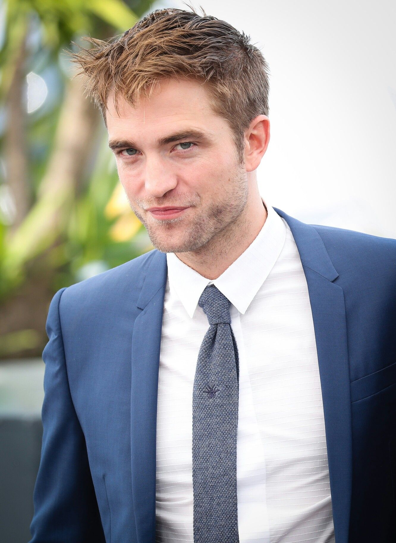 Rob attends Good Time Photocall at Cannes 2017 Robert