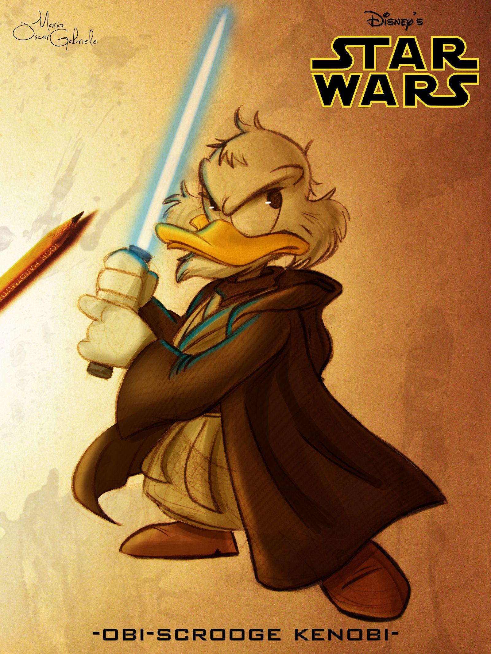 Obi Scrooge Kenobi by MarioOscarGabriele.deviantart.com on @DeviantArt