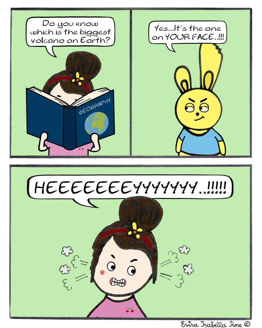 I Turn My Life Into A Comic Series | Bored Panda