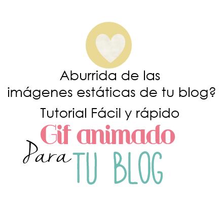 Diseño De Blogs Cómo Hacer Un Gif Para El Blog Blog Cómo Hacer Gif