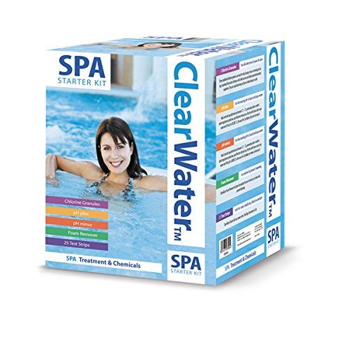 Clearwater Lay Z Spa Chemical Starter Kit Spa Chemicals Spa Hot
