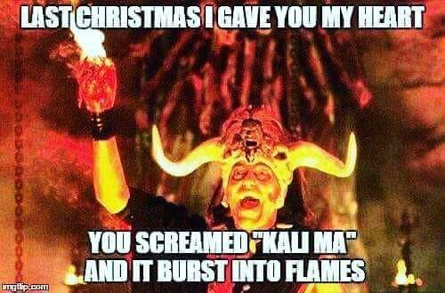 Last Christmas I Gave You My Heart And You Favorite Christmas Songs Christmas Memes Henry Jones Jr