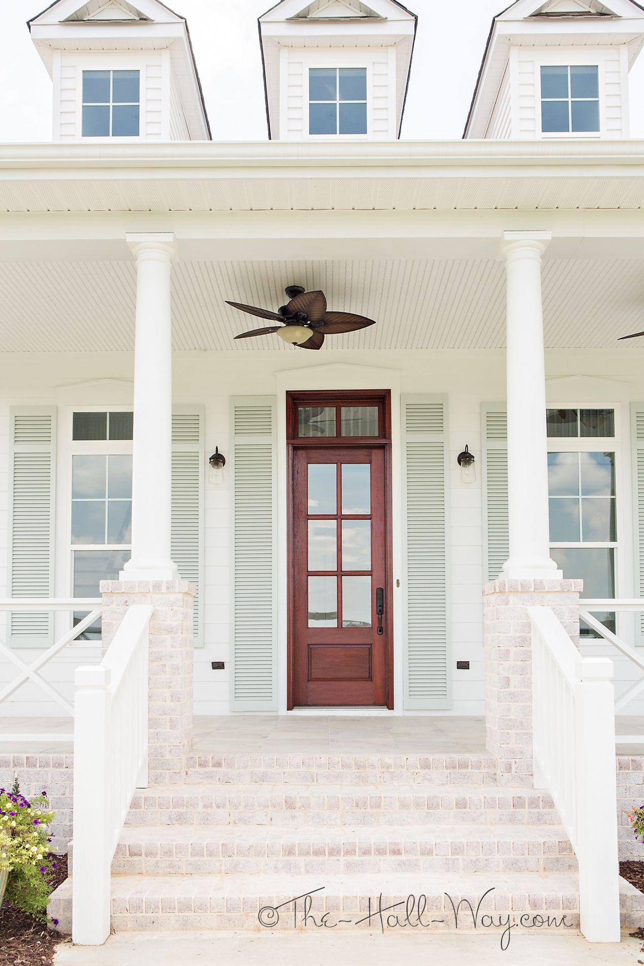 Southern Living Eastover Cottage Exterior | Porch | Pinterest ...