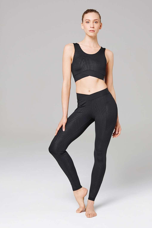 9120365367807 Print Mid-Rise V-Shape Leggings by Ivy Park | Dance/Fitness Attire ...