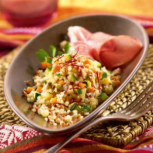 Quinotto p ruvien au quinoa gourmand recette plat saint for Plat a cuisiner simple