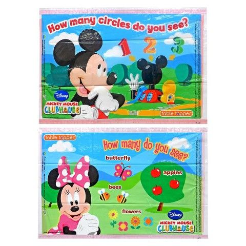 Disney Mickey and Friends 18ct Table Topper Placemats