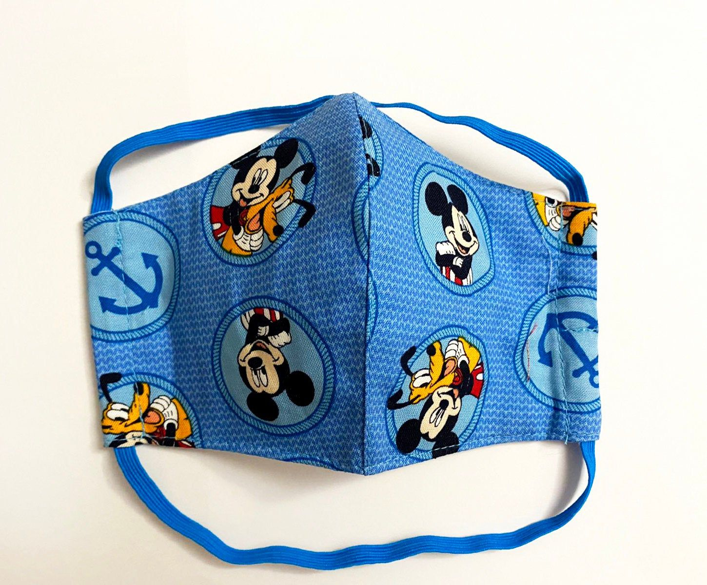 Face Mask for kids and Adults with filter MERV13 Mickey