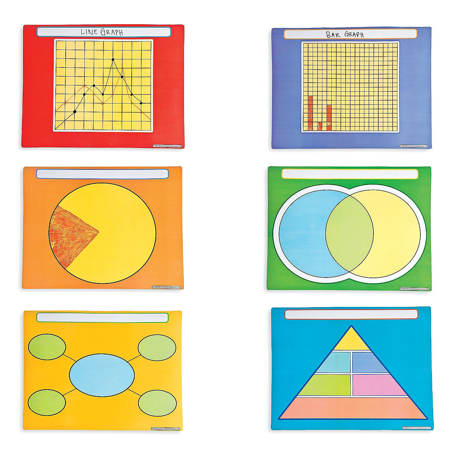 Graphing Dry Erase Boards