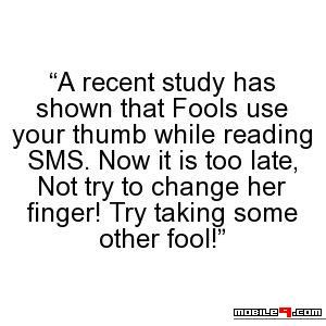 Try Taking Some Other Fools Tap For More Funny April Fools