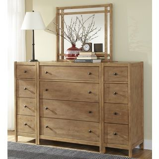Greyson Living New Haven 4-drawer Chest with Optional Mirror and Piers | Overstock.com Shopping - The Best Deals on Dressers